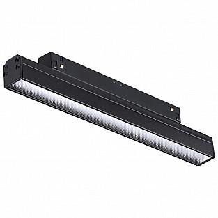 358414 SHINO NT20 000 черн Трековый светильник для низков. шинопровода IP20 LED 4000K 12W 48V FLUM
