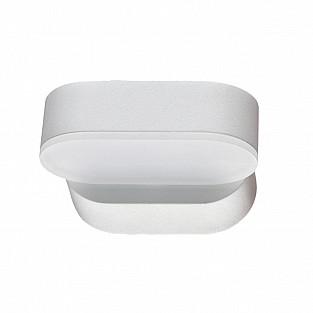 357431 NT18 104 белый Ландшафтный светильник IP54 LED 3000K 6W 220-240V KAIMAS