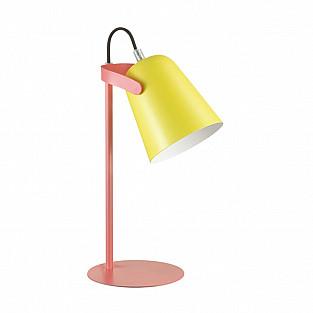 3653/1T LN18 223 оранжевый/жёлтый Настольная лампа E14 4W 220V KENNY