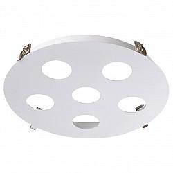 370567 NT19 036 белый Встраиваемый светильник IP20 GU10 6*50W 220-240V CARINO
