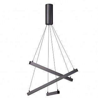 3860/39B ODL20 33 черный/металл Подвесной светильник LED 3000K 39W 220V COMETA