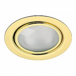 369121 NT09 379 золото Встраиваемый НП светильник G4 20W 12V FLAT