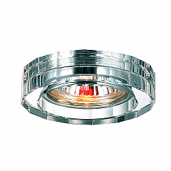 369487 NT09 308 прозрачный Встраиваемый светильник GX5.3 50W 12V GLASS