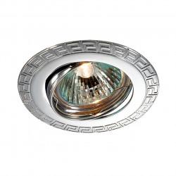 369617 NT12 372 хром Встраиваемый ПВ светильник IP20 GX5.3 50W 12V COIL