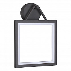 358060 NT19 233 темно-серый Ландшафтный светильник IP65 LED 3000К 13W 100-240V ROCA