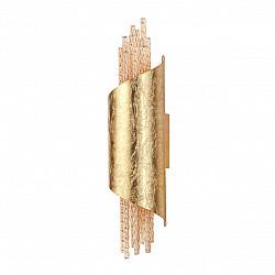 3901/5W ODL20 23 золотистый/стекло/металл Настенный светильник LED 4000K 5W 220V MONICA