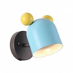 4732/1W ODL20 613 голубой/желтый Подвес GU10 5W Mickey