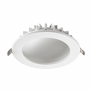 358276 NT19 000 белый Встраиваемый светильник IP20 LED 4000K 12W 100-240V GESSO