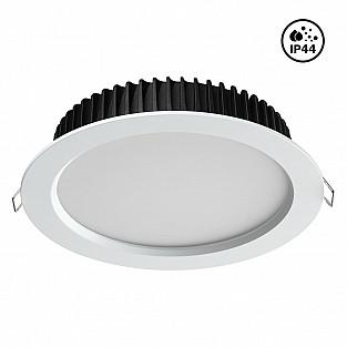 358306 NT19 000 белый Встраиваемый св-к (драйвер в комплект не входит) IP44 LED 4000K 20W 85-265V DR