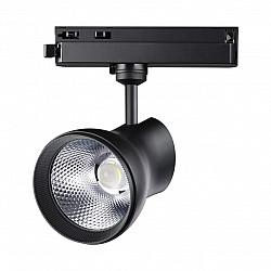 358437 PORT NT20 000 черный Однофазный трековый светильник IP20 LED 4000K 20W 220-240V PIRUM