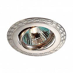 369618 NT12 372 никель Встраиваемый ПВ светильник IP20 GX5.3 50W 12V COIL