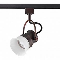 370549 NT19 206 коричневый Трековый светильник IP20 GU10 50W 230V VETERUM