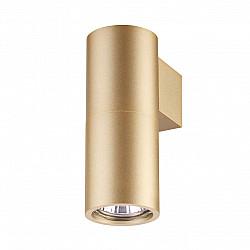 3828/1W ODL20 204 золотистый/металл Настенный светильник GU10 50W DUETTA