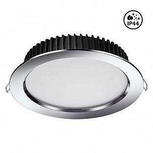 358307 NT19 000 хром Встраиваемый св-к (драйвер в комплект не входит) IP44 LED 4000K 20W 85-265V DRU