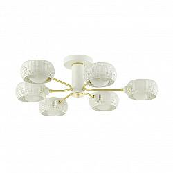 4531/6C MODERNI LN21 141 белый, матовое золото Люстра потолочная E14 6*40W 220V NOELLE