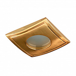 369308 NT09 388 золото Встраиваемый НП светильник IP65 GX5.3 50W 12V AQUA