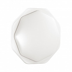 3002/DL SN 019 св-к VESTA пластик LED 48Вт 3000-6500K D400 IP43 пульт ДУ/ LampSmart