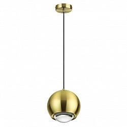 4227/8L L-VISION ODL21 071 золотистый/металл Подвесной светильник IP20 LED 8W 380Лм 3000К MIA
