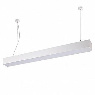 358055 NT19 059 белый Подвесной светильник IP20 LED 4000К вверх 20W + вниз 30W 220V ITER