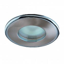 369302 NT09 389 никель/хром Встраиваемый НП светильник IP65 GX5.3 50W 12V AQUA