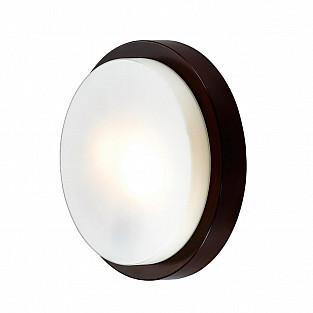 2744/2C ODL15 671 венге/стекло Н/п светильник IP44 E14 2*40W 220V HOLGER