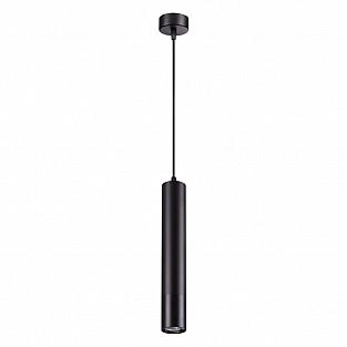 370622 NT19 000 черный Накладной светильник, длина провода 1м IP20 GU10 50W 220V PIPE
