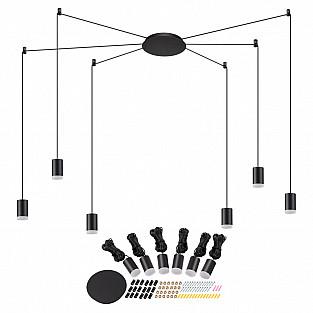 357937 NT19 016 черный Накладной светильник IP20 LED 3000К 48W 220-240V WEB