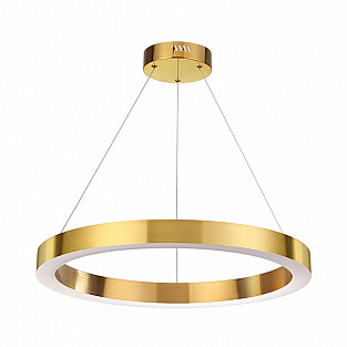 3885/35LG ODL20 21 золотистый /металл Подвесной светильник LED 4000K 35W 220V (2 вида крепления) BRI