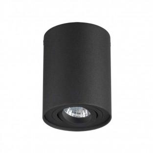 3565/1C ODL18 115 черный Потолочный накладной светильник IP20 GU10 1*50W 220V PILLARON