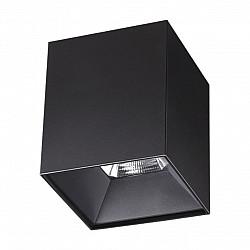 357961 NT19 151 черный Накладной светильник IP20 LED 4000К 20W 200-260V RECTE