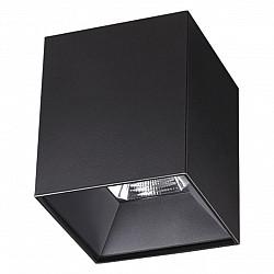 357962 NT19 151 черный Накладной светильник IP20 LED 4000К 30W 200-260V RECTE