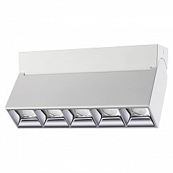 358320 NT19 000 белый Светильник накладной IP33 LED 4000К 25W 110-265V EOS