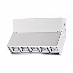 358321 NT19 000 белый Светильник накладной IP33 LED 4000К 13W 110-265V EOS