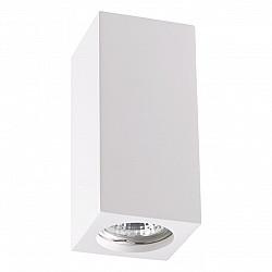 370466 NT19 069 белый Накладной светильник IP20 GU10 50W 220V YESO