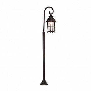 2314/1F ODL12 733 коричневый Уличный светильник 150см IP44 E27 60W 220V LUMI