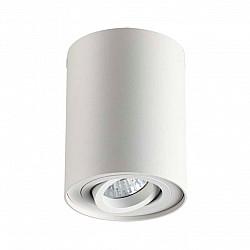 3564/1C ODL18 115 белый Потолочный накладной светильник IP20 GU10 1*50W 220V PILLARON