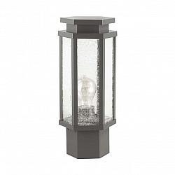 4048/1B ODL18 710 темно-серый/белый Уличный светильник на столб IP44 E27 100W 220V GINO