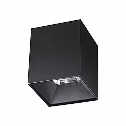 357959 NT19 151 черный Накладной светильник IP20 LED 4000К 10W 200-260V RECTE