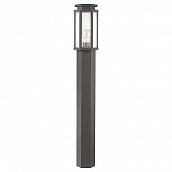 4048/1F ODL18 710 темно-серый/белый Уличный светильник, 100см IP44 E27 100W 220V GINO