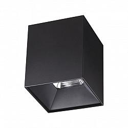 357960 NT19 151 черный Накладной светильник IP20 LED 4000К 15W 200-260V RECTE