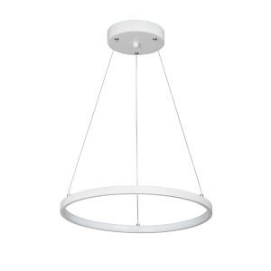 Светодиодный светильник V4600-0/1S, LED 30Вт, 3500-4000K белый матовый Vitaluce