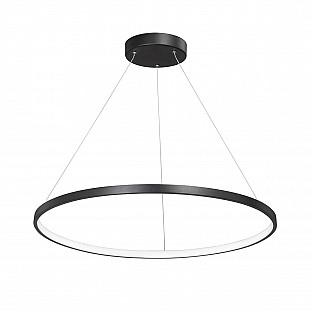 Светодиодный светильник V4601-1/1S, LED 45Вт, 3500-4000K чёрный матовый Vitaluce