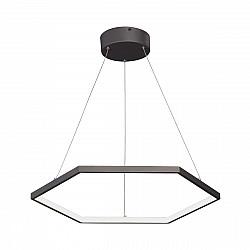 Светодиодный светильник V4605-2/1S, LED 42Вт, 3500-4000K бронзовый графит Vitaluce