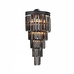 Светильник настенный V5155-1/6A, 6хЕ14 макс. 40Вт чёрный матовый Vitaluce