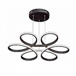 Светодиодный светильник V4618-1/6PL, LED 77Вт, 3900-4200К черный матовый Vitaluce