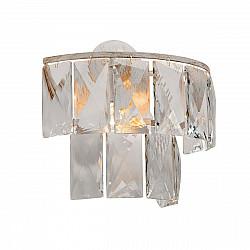 Светильник настенный V5262-0/3A, 1хЕ14 макс. 40Вт бело-бежевый с золотом Vitaluce