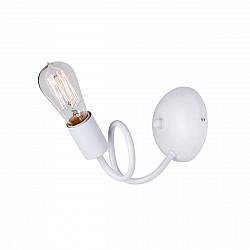 Светильник настенный V4596-0/1A, 1хЕ27 макс. 60Вт белый матовый Vitaluce