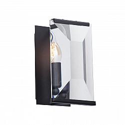 Светильник настенный V5217-1/1A, 1хЕ14 макс. 40Вт чёрный матовый Vitaluce