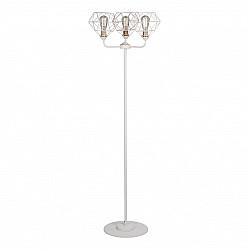Светильник напольный V4326-0/3P, 3хЕ27 макс. 60Вт белый матовый Vitaluce