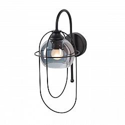 Светильник настенный V4462-1/1A, 1хЕ27 макс. 60Вт чёрный матовый Vitaluce